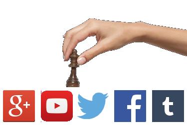 redes sociales widget