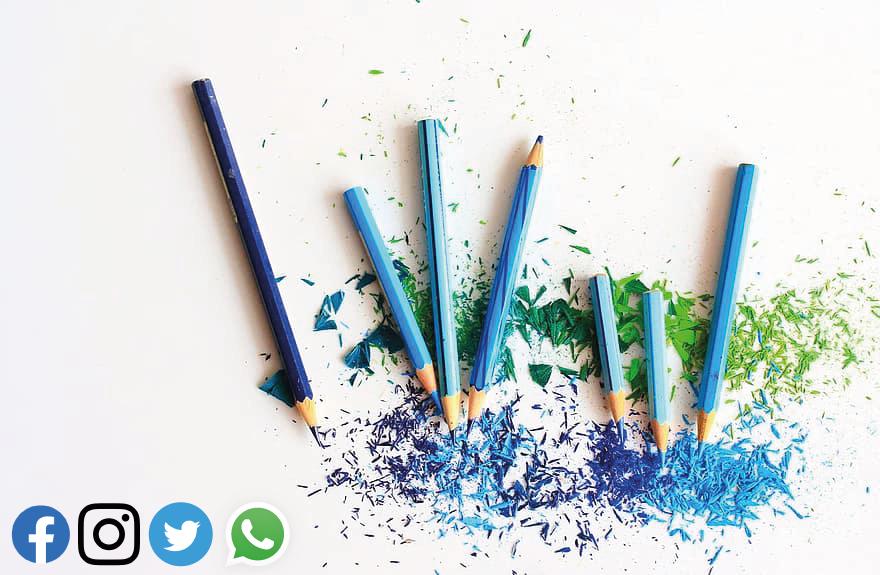 Pencils social
